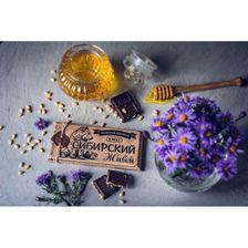 Живой шоколад на меду молочный,100 грамм