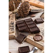 Живой шоколад на меду темный,100 грамм