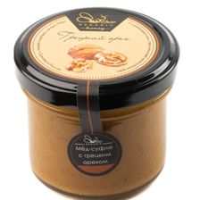 Мёд-суфле с грецким орехом
