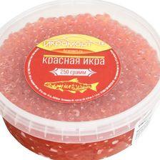 Красная икра кеты, 250 грамм