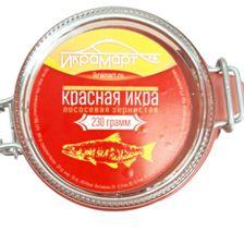Икра красная лососевая, «Икрамарт», 230 грамм