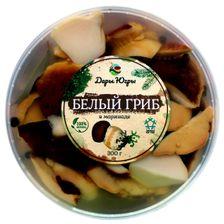Белый гриб боровик маринованный ПЭТ