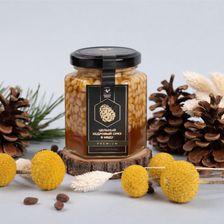 Цельный кедровый орех в меду