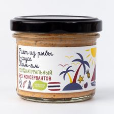 Риет из рыбы в соусе Том-ям, «по-тайски»