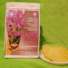 Иван-чай с Цедрой Лимона и корнем имбиря 100г