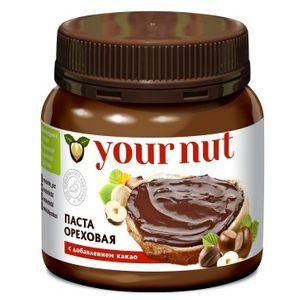 Паста ореховая с добавлением какао