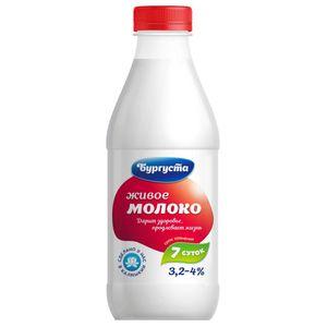 Бургуста  молоко цельное  3,5-4,5%