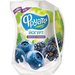 Йогурт пит. Фруате Черника-ежевика* 950г 1,5% LP