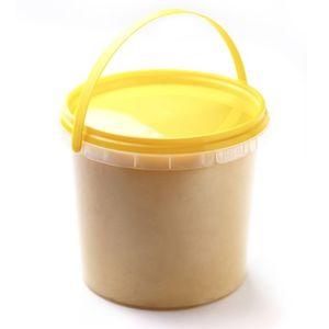 Мёд донник с маточным молочком в  пластике