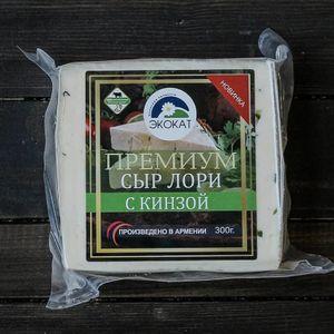 Сыр Экокат Премиум Лори с кинзой