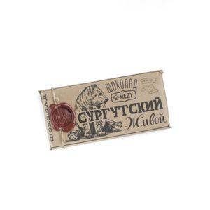 Живой шоколад на меду с имбирем, 100 г