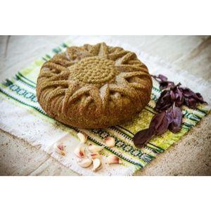 Ржаной КАРАВАЙ «с чесноком и базиликом» 1,5 кг