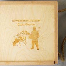 Подарочный ящик для сыра
