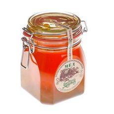 """Мёд в стеклянной банке """"замок"""" 1,1 кг"""