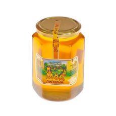 Мёд в стеклянной банке 1 кг