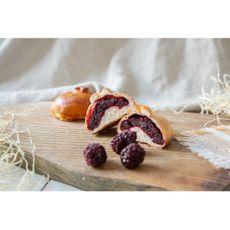 Пирог на закваске с ежевикой, 90-100 г