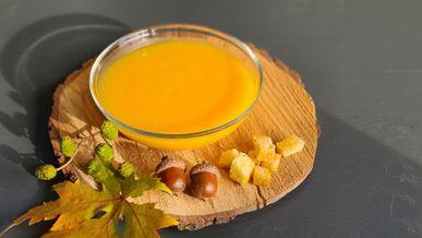 Тыквенный суп с медом