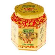Крем-мёд в стеклянной банке 0,4 кг
