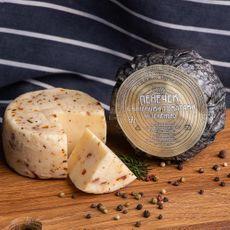 """Сыр """"Пенёчек с вялеными томатами и зеленью"""" 280 гр м.д.ж. от 50-55%"""