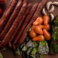 Колбаски «Охотничьи старорусские» полукопченые