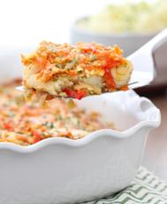 Минтай с луком и морковью