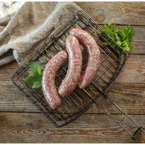 Колбаски для жарки и гриля из молодой говядины.