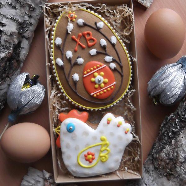 """Пасхальный набор """"Курочка и яйцо"""""""