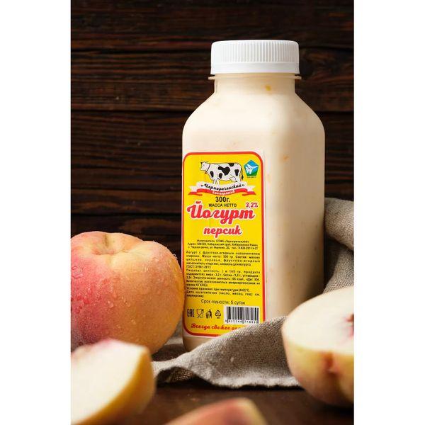 Йогурт персик 3,2%