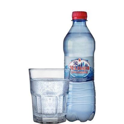 """Вода """"Мальцов хрустальная"""" газированная 0,5л."""