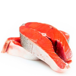 Дикий лосось нерка, стейк свежемороженый, 600 г