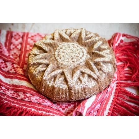 Ржаной КАРАВАЙ «с чесноком», 1,5 кг