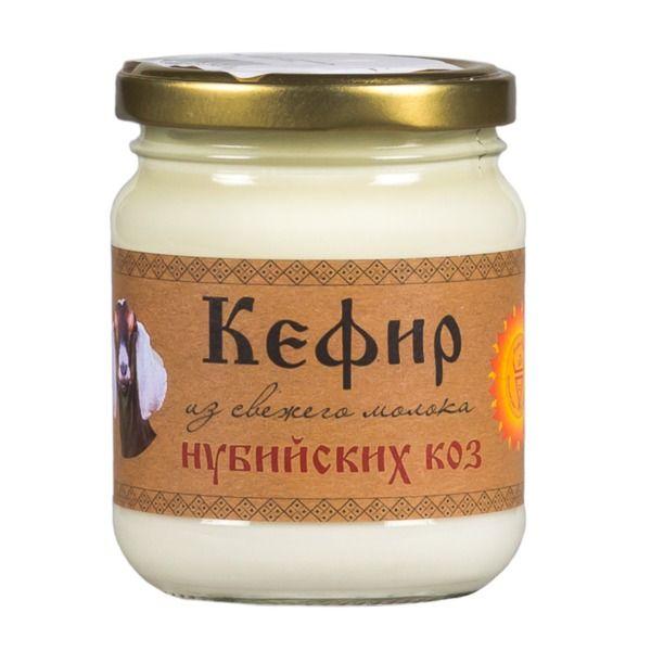 Кефир из молока нубийских коз 250 мл