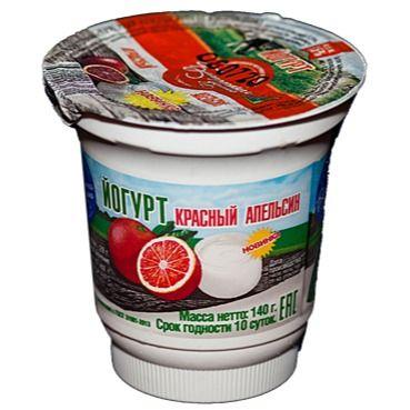 Йогурт фруктовый «Красный апельсин»