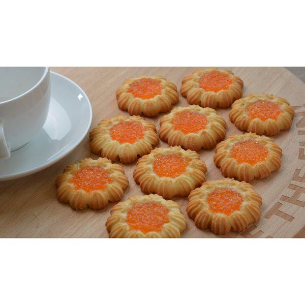 Печенье «Ромашка» с кремом
