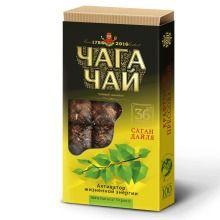Чага чай с саган-дали, плитка, 96г ИВАН ДА