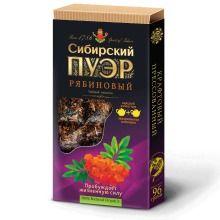 «Сибирский пуэр» рябиновый, плиточный, 96г ИВАН ДА